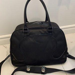 Lululemon Black Logo Gym Bag